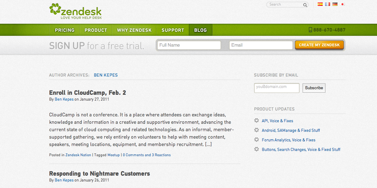 Freshdesk is a freaking rip-off, says Zendesk CEO